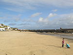 Sunny Winter Day - Harbour Beach St Ives - January 2013