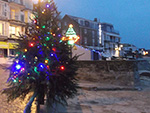 Christmas Lights - St Ives Cornwall - December 2015