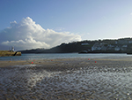 Christmas Day - St Ives Harbour - December 2009