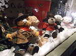 Christmas Window - Fore Street St Ives - Fabulous Bear Factory - December 2013