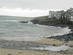Lambeth Walk Beach - St Ives - Autumn Day