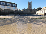 Lambeth Walk Beach - St Ives - Winter Day